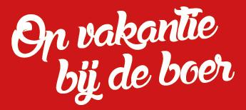 Op vakantie bij de boer Logo